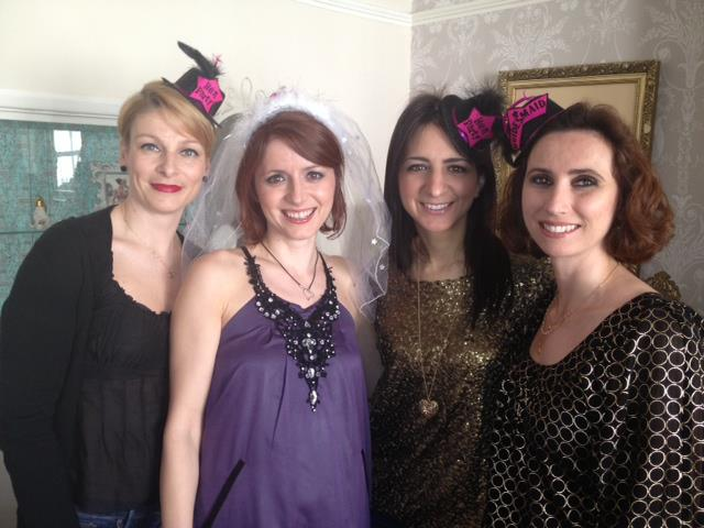 Make up by Rachel & Laura Beautiful make up for these ladies before their night out in Brighton town.
