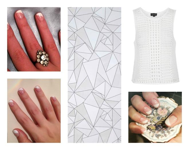 geo nail art